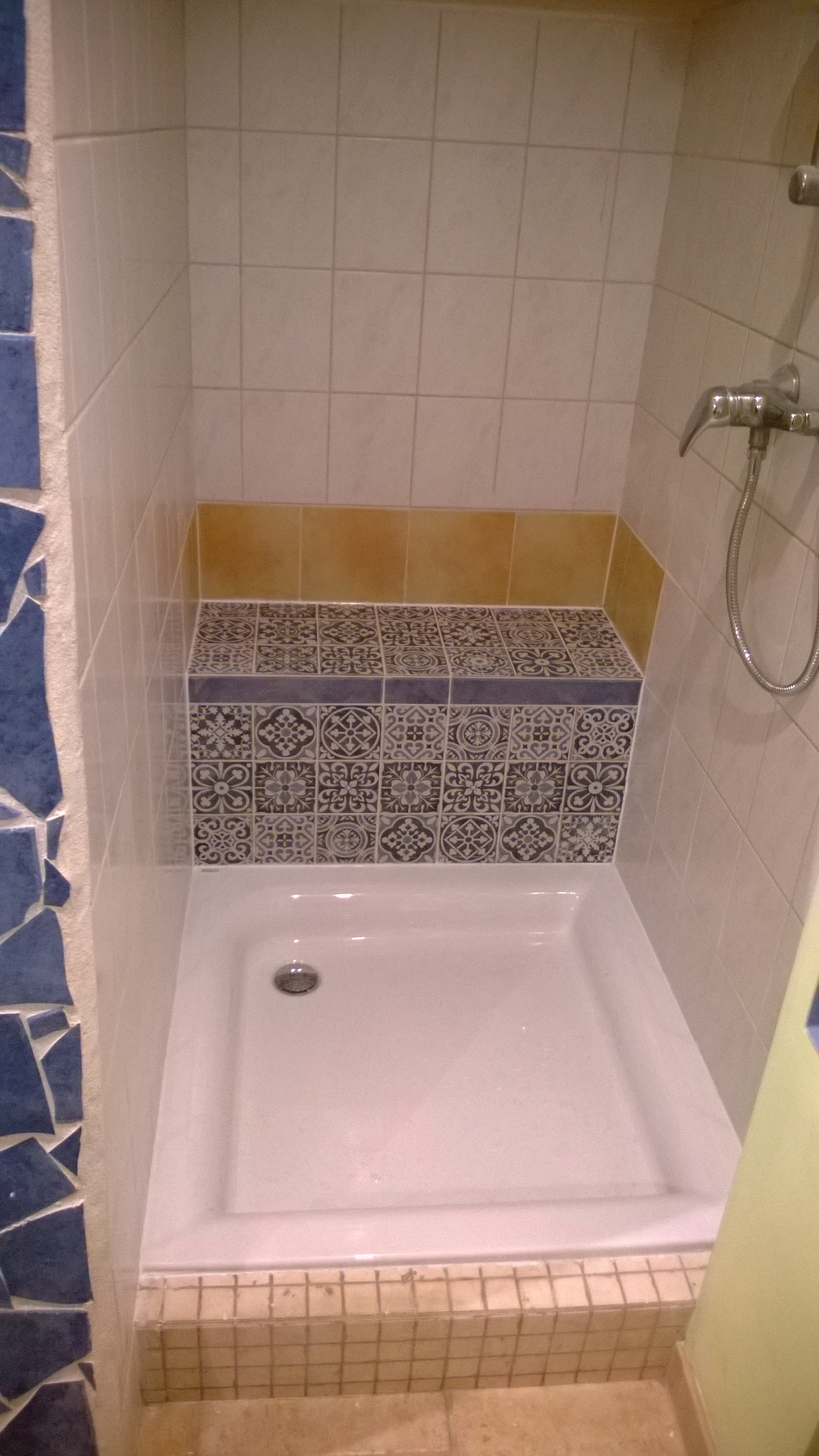 Prysznic We Wnęce Na Poddaszu Remont Mieszkania Lub Domu